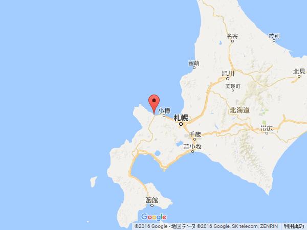 北海道から見た地図