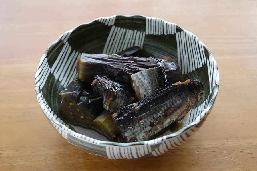 身欠きニシンとナスの煮物01